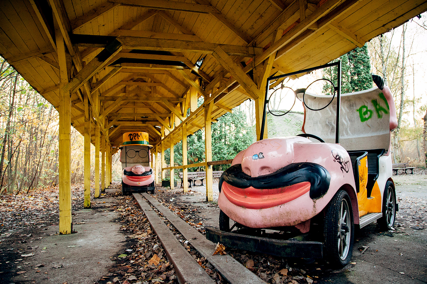 04 Spreepark Berlin Urbex Abandoned Photography