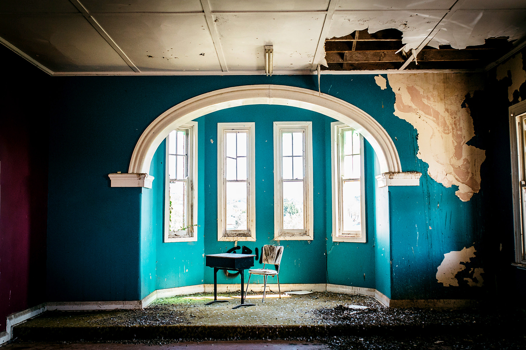 26 Beautiful Urbex Abandoned Photography